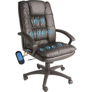 Comfort® in.Massage Master in. 5-Motor Bonded Leather Executive Chair