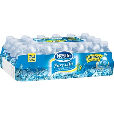 Nestle® Pure Life® Juniors Purified Bottled Water, 8 oz. Bottles, 24/Case