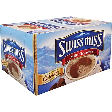 Swiss Miss® Hot Cocoa Mix, Regular, .73 oz., 50 Packets