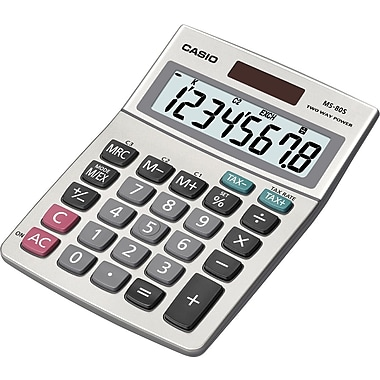 Casio MS-80S 8-Digit Display Calculator