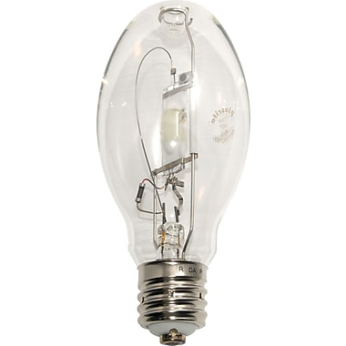 175 Watt Plusrite ED-28 Metal Halide Bulbs, Clear, 6/Pack