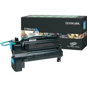 Lexmark Cyan Toner Cartridge (C792A1CG), Return Program