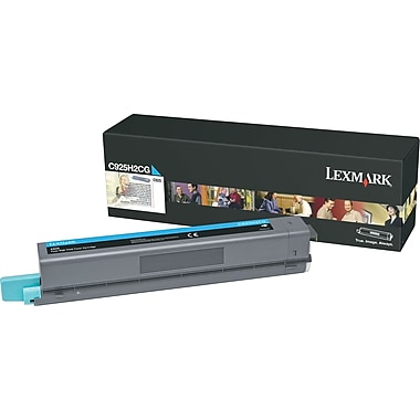 Lexmark™ C925H2CG Cyan Toner Cartridge, High-Yield