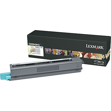 Lexmark™ C925H2KG Black Toner Cartridge, High-Yield