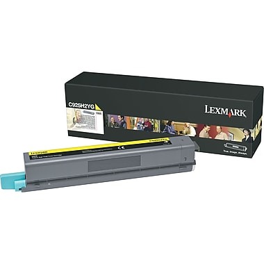 Lexmark™ C925H2YG Yellow Toner Cartridge, High-Yield