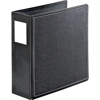 4in. Cardinal® SuperLife™ Easy Open® Locking Slant-D® Ring Binder, Black