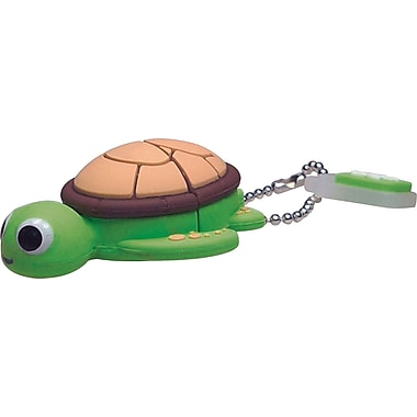 Emtec Animals 8GB USB 2.0 USB Flash Drive (Sea Turtle)