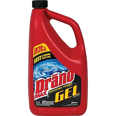 Drano® Max Gel Drain Cleaner; 80 oz.