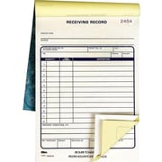 "Tops® Receiving Record Book, 5-1/2"" x 7-7/8"", 2 Part"
