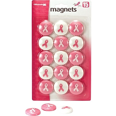 OIC® Pink Ribbon Magnets