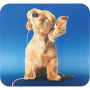 Staples Music Dog Mouse Pad