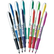 BIC® Mark-it™ Ultra Fine Point Permanent Markers, Assorted, Dozen