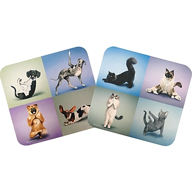 Staples Yoga Pets Mouse Pad, Assorted
