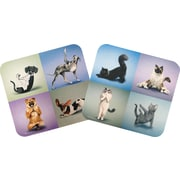 Staples® Yoga Pets Mouse Pad, Assorted
