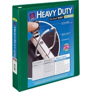 2 Avery® Heavy-Duty View Binders with One Touch™ EZD® Rings, Green