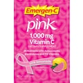 Emergen-C Vitamin C Drink Mix, Pink Lemonade, 0.3 oz., 50 Packets/Box