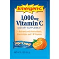 Emergen-C Vitamin C Drink Mix, Super Orange, 0.3 oz., 50 Packets/Box