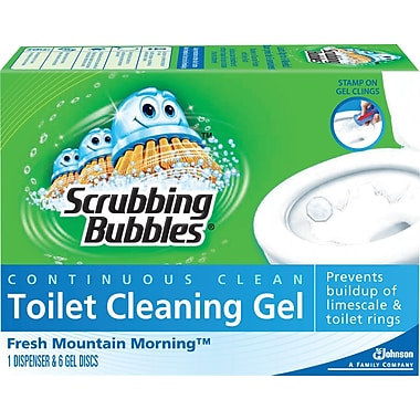 Scrubbing Bubbles® Toilet Gel, Fresh Mountain Morning