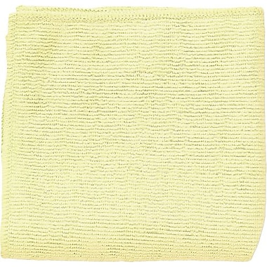 Unisan Reusable Wipers, Yellow, 12/Pack