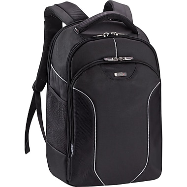 SOLO® Sentinel Collection Laptop Backpack, Black, 17.3in.
