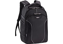SOLO® Sentinel Collection Laptop Backpack, Black, 17.3'
