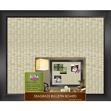 The Board Dudes™ Sea Grass Bulletin Board, 22in. x 18in.