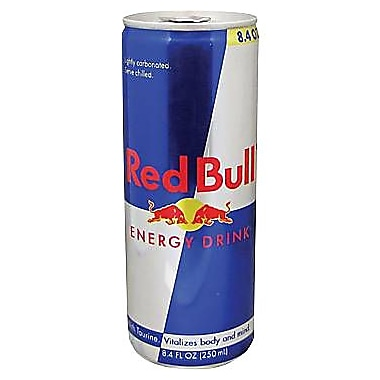 Red Bull® Energy Drink, 8.4 oz. Cans, 24/Pack