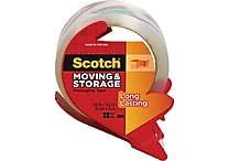 Scotch® Moving and Storage Tape, Clear, 1.88' x 54.6 yds