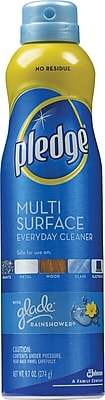 Pledge Multi Surface Everyday Cleaner Glade Rainshower 9.7 oz.