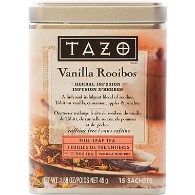 Tazo - Infusion de tisane, feuilles, rooibos vanille