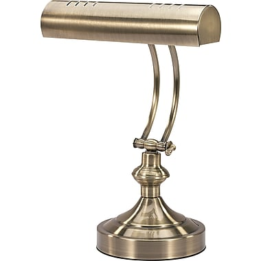 V-Light® Victory Light Piano Style Desk Lamp, Antique Finish