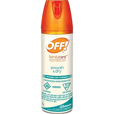 OFF!® FamilyCare Insect Repellent Smooth & Dry, Travel Size
