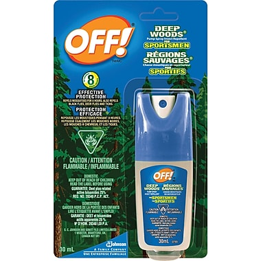 OFF!® Deep Woods Sportsmen Insect Repellent, Travel Size