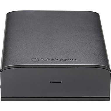 Verbatim Store 'n' Save USB 3.0 Desktop Hard Drive, 2TB, Black
