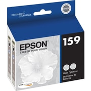 Epson 159 Gloss Optimizer Cartridge (T159020), 2/Pack