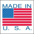 Made in USA Labels, 4in. x 4in.