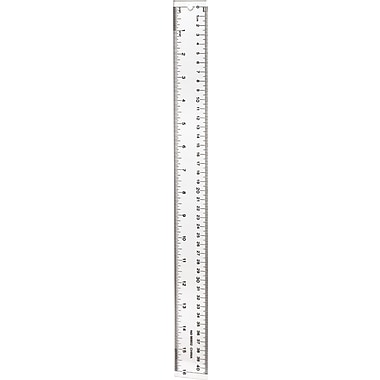 Staples® Acrylic Ruler, 16