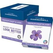 HammerMill® Premium Inkjet Paper, 8 1/2 x 11, 24lb., 2,500/Case