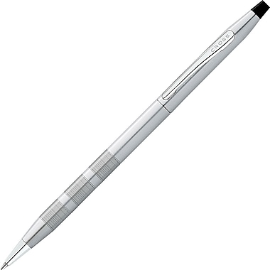 Cross Classic Century Ballpoint Pen, Medium Point,Satin Chrome/Black