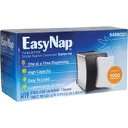 EasyNap® Tabletop Napkin Dispenser and Pack of Napkins Starter Kit
