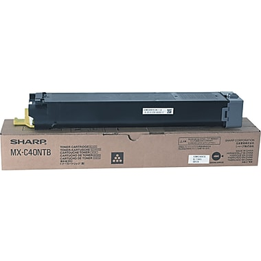 Sharp Black Toner Cartridge (MX-C40NTB)