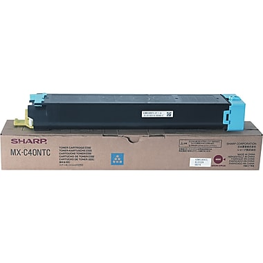 Sharp Cyan Toner Cartridge (MX-C40NTC)