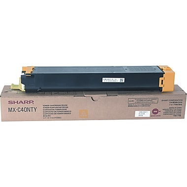 Sharp Yellow Toner Cartridge (MX-C40NTY)