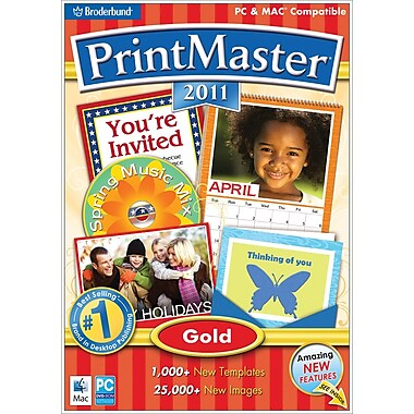 Print Master 2011 Gold [Boxed]