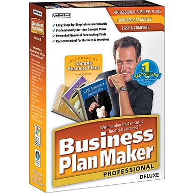 Business PlanMaker Professional Deluxe 9 [Boxed]