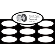 Great Papers® Black Border Imprintable Seals, Oval