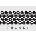 Great Papers® Graduation  Icons Thank You