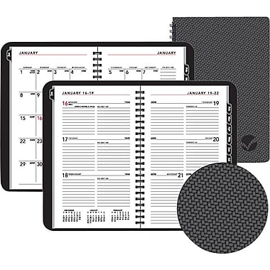 2013 AT-A-GLANCE® Weekly/Monthly Planner, 5in. x 8in.