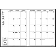 "2014 AT-A-GLANCE® Monthly Planner, 7"" x 10"", Black"