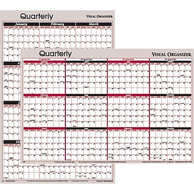 2014 AT-A-GLANCE® Vertical/Horizontal Erasable Wall Planner